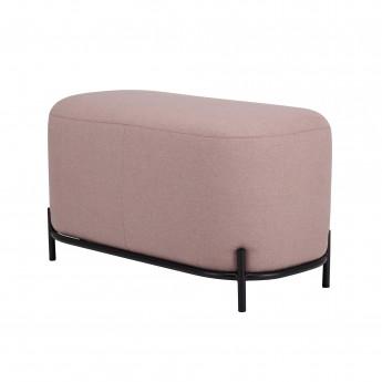 Pink pouf L