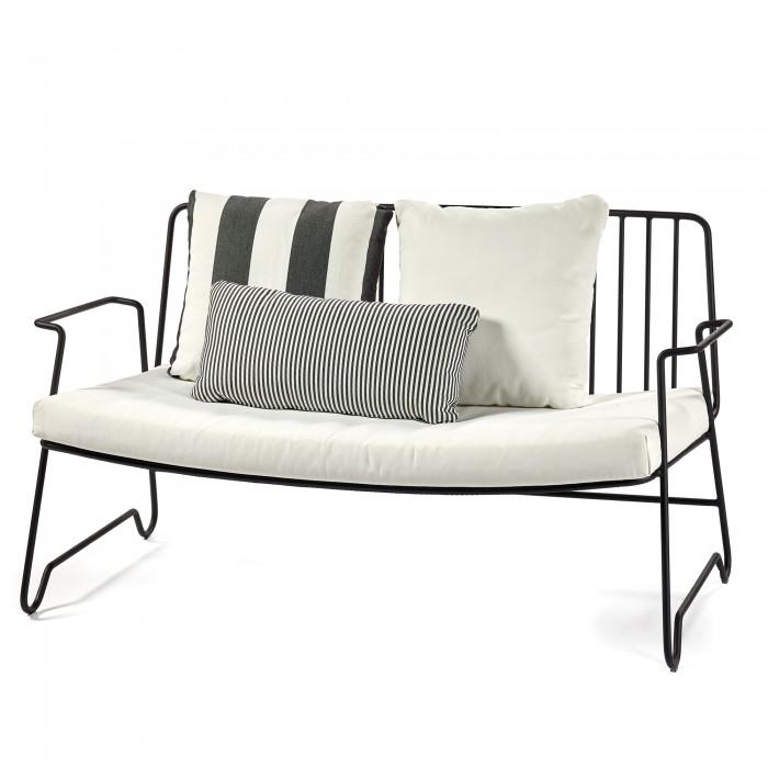 LOUNGE black sofa