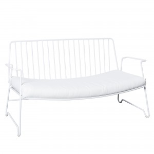 LOUNGE white sofa