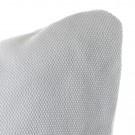 Fauteuil LOUNGE blanc avec accotoir