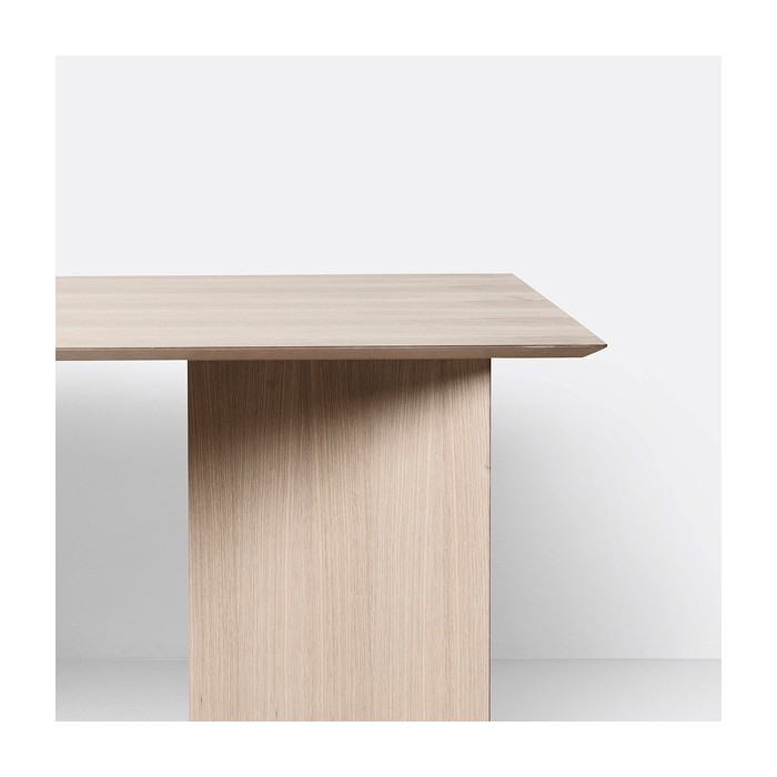 Table MINGLE - Rectangle - Naturel