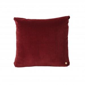 CORDUROY cushion - Burgundy