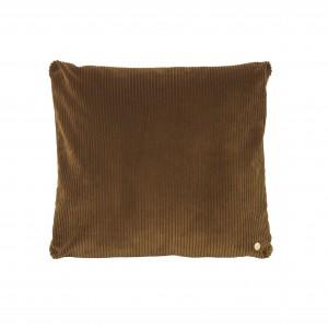 CORDUROY cushion - Golden olive