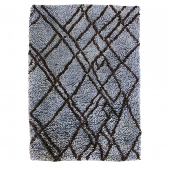 BERBER carpet - blue