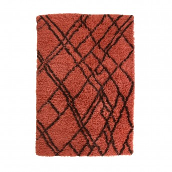 BERBER carpet - red