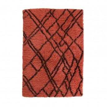 Tapis BERBERE - rouge