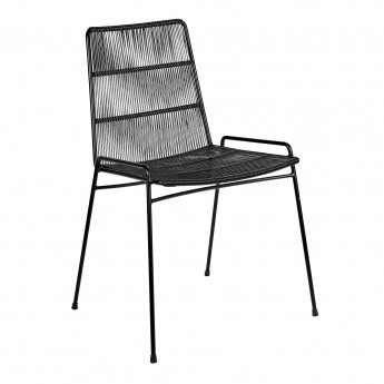 LOUNGE black armchair