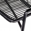 LOUNGE black armchair