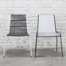 ABACO black and white chair