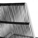 Chaise ABACO noire et blanche