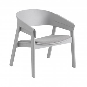 Chaise COVER LOUNGE assise tapissée Remix 123