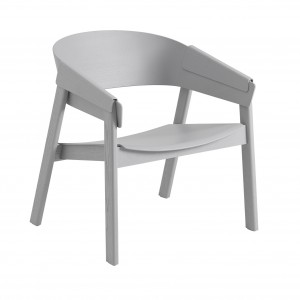 Chaise COVER LOUNGE assise chêne gris