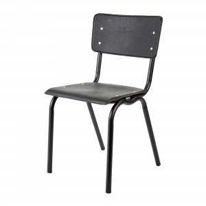 Chaise VYNIL noire