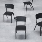 VYNIL black chair