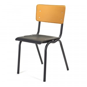 VYNIL chair black and curry