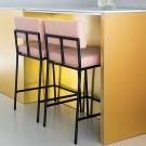 MONDAY Bar stool - Cube 166 Blossom