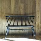 LOVESEAT bench half Mandarin