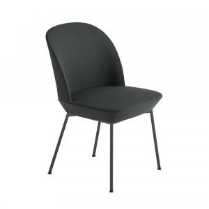 Chaise OSLO gris foncée
