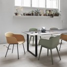 FIBER Chair wood base - MUUTO