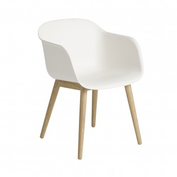 FIBER Chair wood base - MUUTO