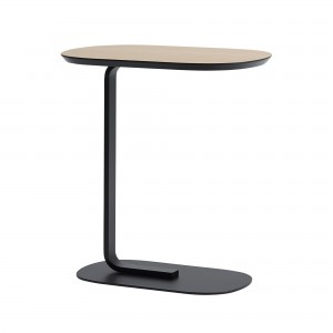 RELATE side table black and wood