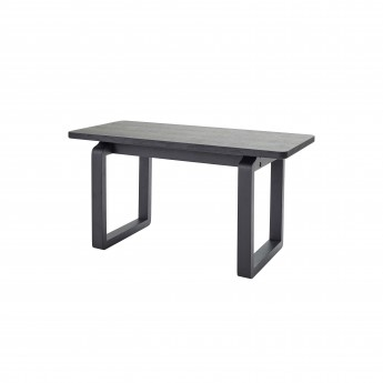DT Bench mini - Black stained oak