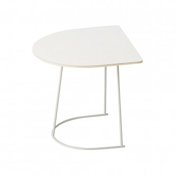 Table basse AIRY Demi-format blanc
