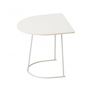 AIRY Coffee table Half size white