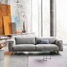 REST 3 seaters sofa light grey