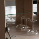 LUXE Drinks cabinet - White oiled oak