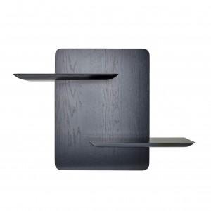 Etagère STAGE RACK - Chêne teinté noir