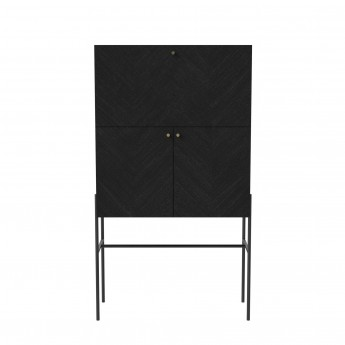 LUXE Drinks cabinet - Black
