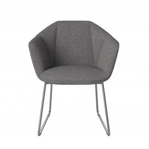KIMONO Dining chair - Grey