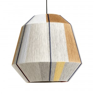 BONBON earth tones pendant lamp L