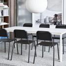 HALFTIME chair - Black oak