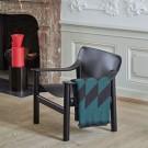 BERNARD Armchair - Black leather