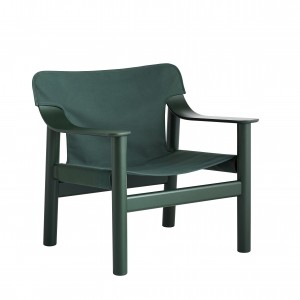 BERNARD Armchair - Canvas green