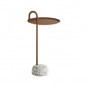Table d'appoint BOWLER - Pale brown