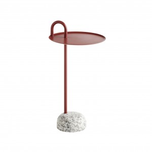 BOWLER Side table - Red