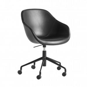 Chaise AAC 153 - Cuir noir