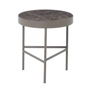 Table MARBLE M marron