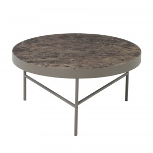 MARBLE Table L brown