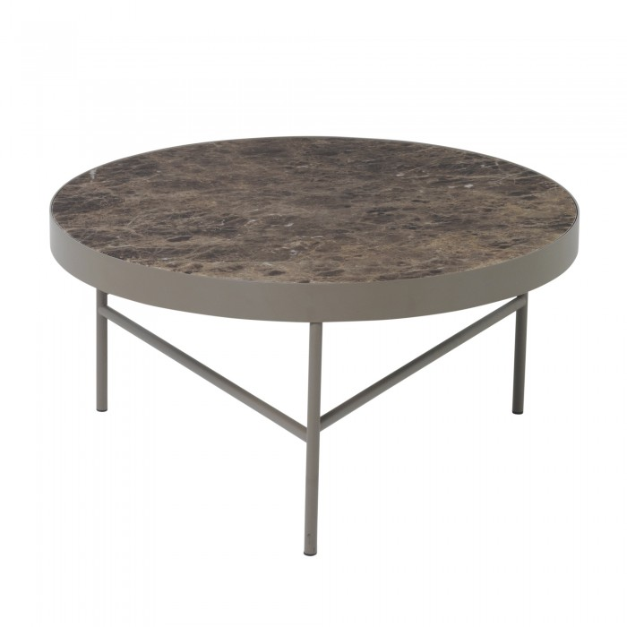 Table MARBLE L marron