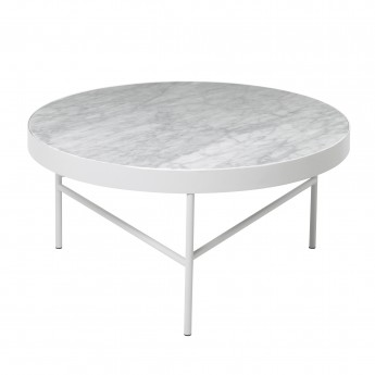 Table MARBLE M blanche