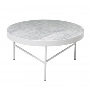 Table MARBLE L blanche