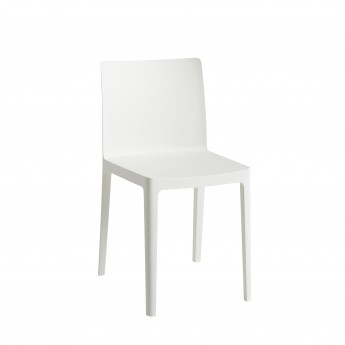 ELEMENTAIRE chair Cream White