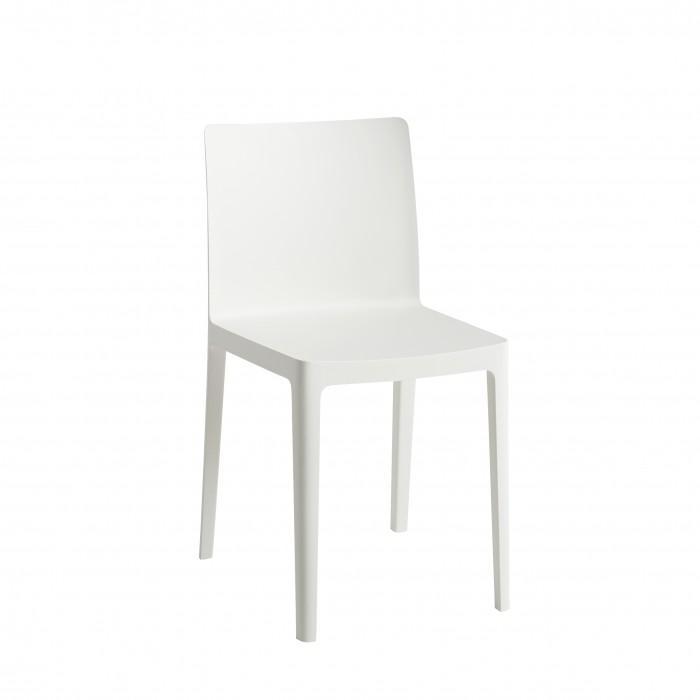 ELEMENTAIRE chair Cream White