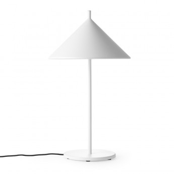 TRIANGLE lamp white metal