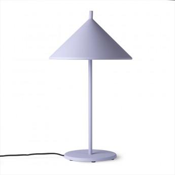TRIANGLE lamp lilac metal