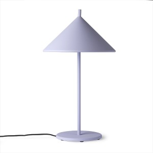 TRIANGLE lamp - Lilac metal M